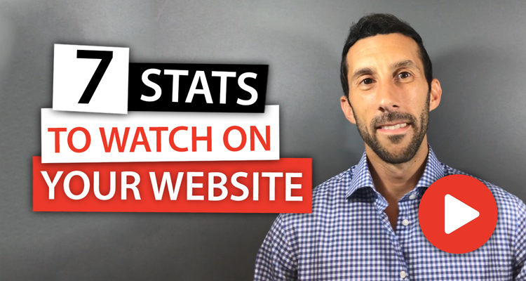 7 Stats You Should Watch on Your Website